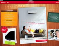 Hitachi Catalogue iPad App (Concept)