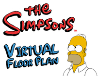 The Simpsons - Virtual Floor Plan