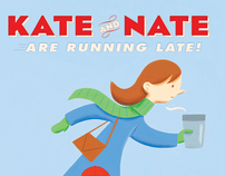 Kate and Nate Are Running Late