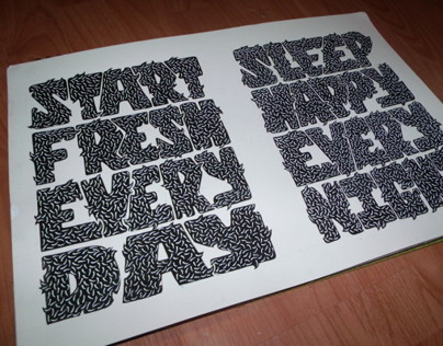 Typography project.