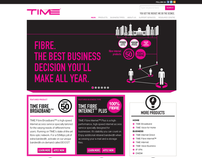 TIME Web Revamp Concept
