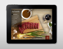 GE Cooking iPad App
