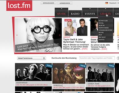 Last FM - Myspace / Fusion