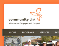 Community LInk Website Design