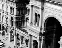 Ride through Milano