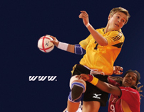 Mizuno AD for new website