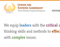 Center for Systemic Leadership Website