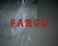 Re-imagined title sequence for the film Fargo.