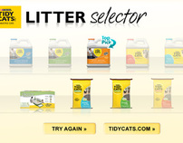 Purina® Tidy Cat® Mobile Litter Selector