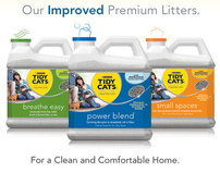 Purina® Tidy Cats® Premium Litter Updates