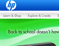 HP - Home Page Redesign