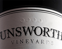 Unsworth Vineyards - Branding, Labels, Web & Print