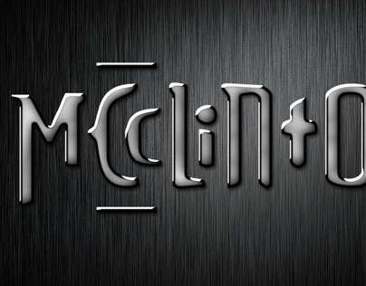 MCcLiNtOn | Logo Design