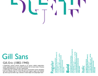 Typographical posters