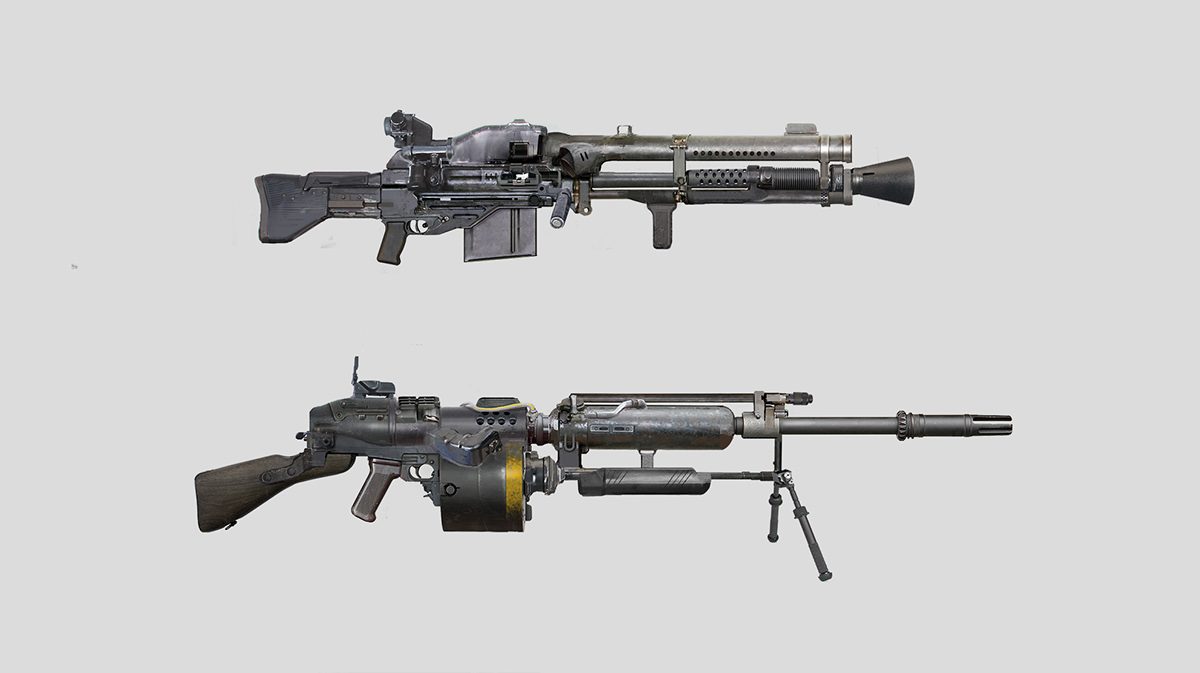 Weapon concepts