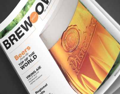 Brew your Own Magazine ReDesign