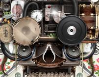 Van Coke Kartel - Wies Bang - CD Cover Design
