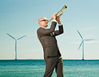 Environmental portraits of 11 danish entrepreneurs