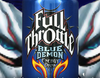 Full Throttle - Blue Demon - Concept Design