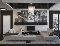 Photographers residence - Interior design & 3D