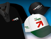 Heineken thirst t-shirt and cap's