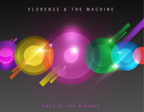 Florence & The Machine Single Cover Design
