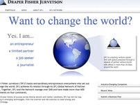Draper Fisher Jurvetson Website