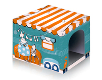 Kitschy Kats, Fancy Feline Outhouses