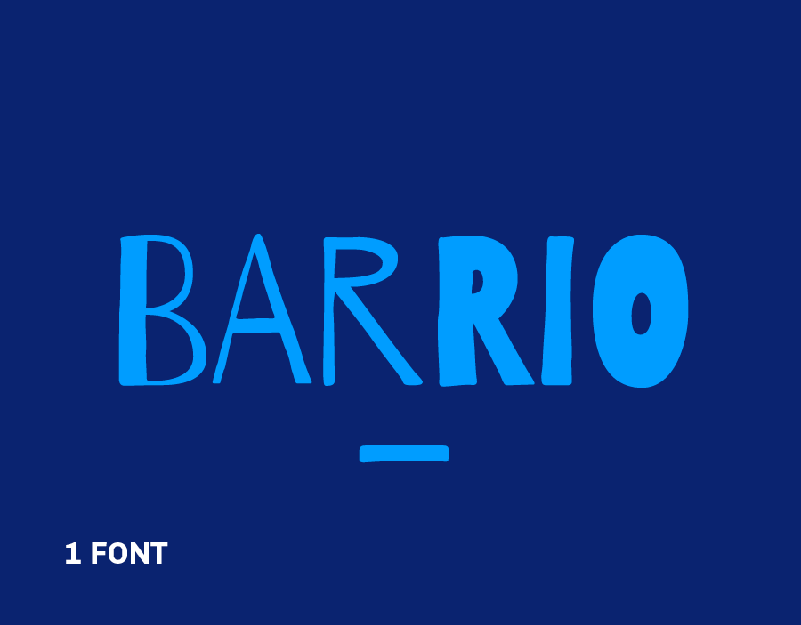 New release: Barrio