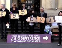 Foodbank Victoria Human Donation Counters
