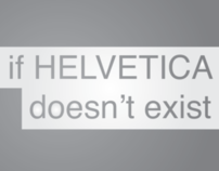 If HELVETICA doesn't exist...