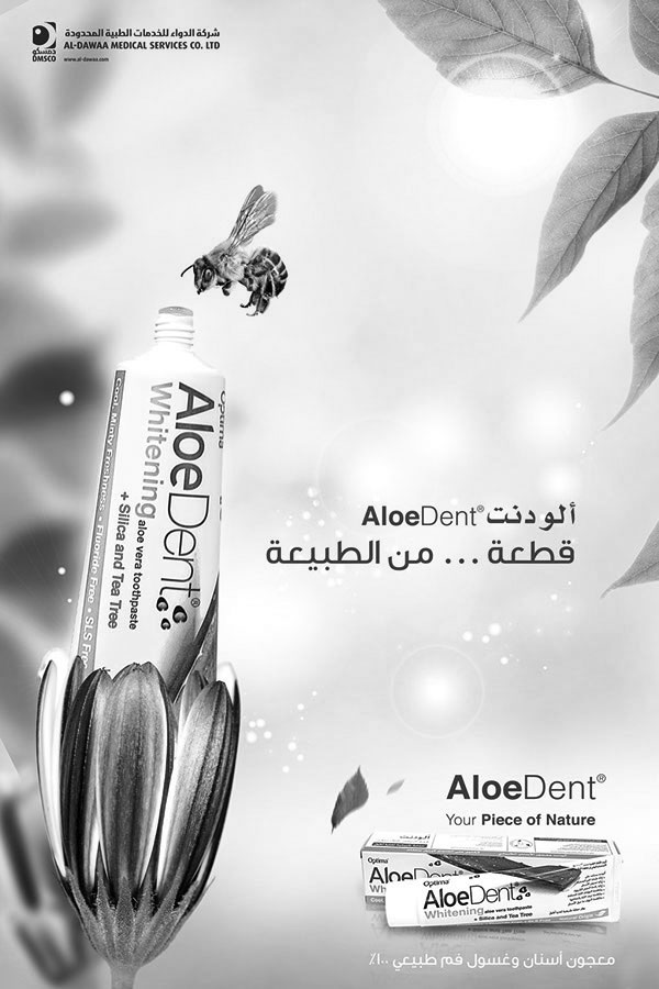 Aloe dent toothpaste - piece of nature