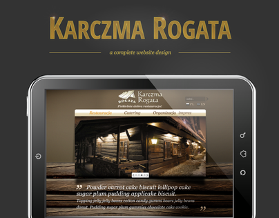 Karczma Rogata Website