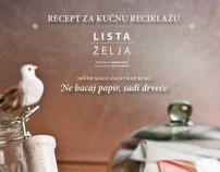 Recept za kućnu reciklažu//Recepie for home recycling
