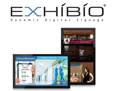 Exhibio - Branding, Design, & Development