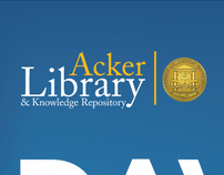 Acker Library Signs