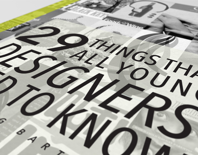 29 Things That All Young Designers Need to Know Booklet