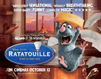 RATATOUILLE -  UK Campaign