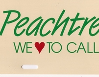 Affinity Advertising - Peachtree City License Plate
