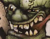 Airbrushed Frankenstein Shirt