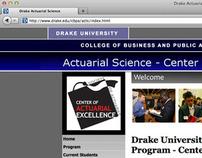 Drake Actuarial Science Website