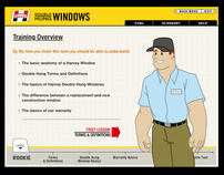 Interactive Training Modules: Harvey Windows
