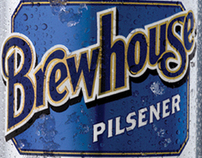 Brewhouse Beer - Rebrand
