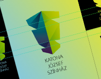 Logo project for Katona József Theater
