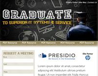 Presidio SLED Landing Page