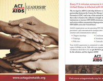 Branding - CDCs Act Against AIDS Leadership Initiative