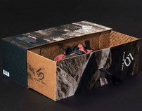 Five Ten climbing shoe box