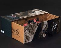 Five Ten climbing shoe box