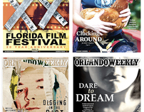 Orlando Weekly covers and design