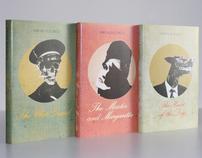 Bulgakov - book jackets